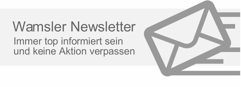 Wamsler Newsletter