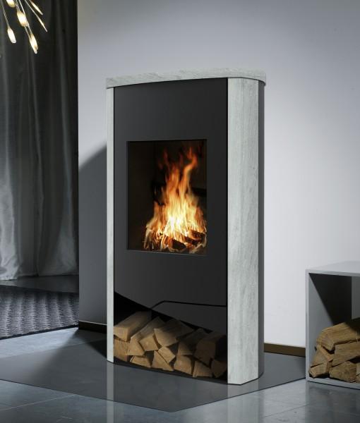 kaminofen n line mit externem luftanschluss. Black Bedroom Furniture Sets. Home Design Ideas